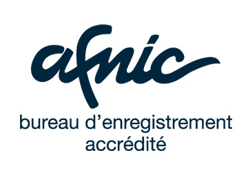 AFNIC : bureau d'enregistrement accrédité (.fr)