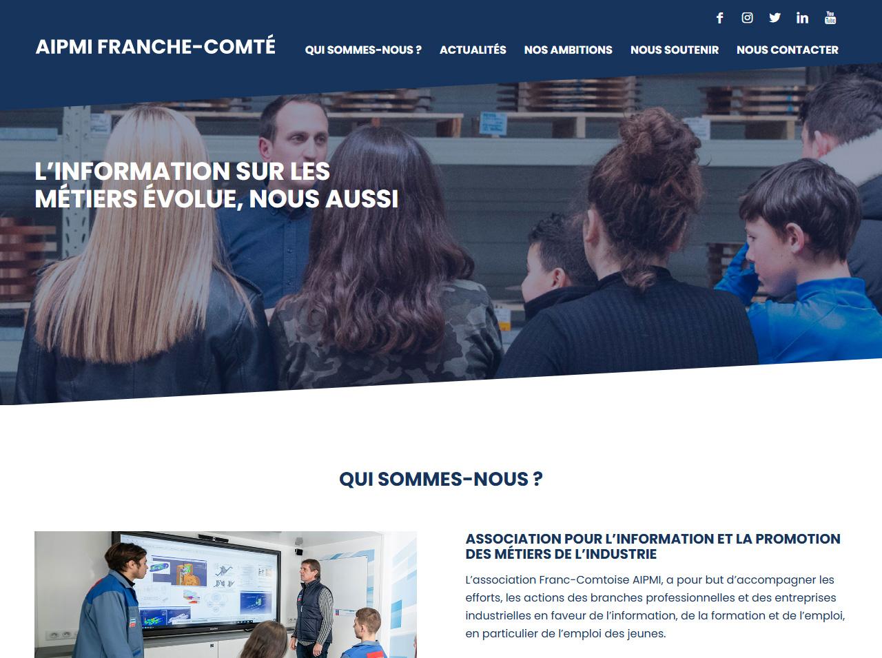Création du site aipmi.fr