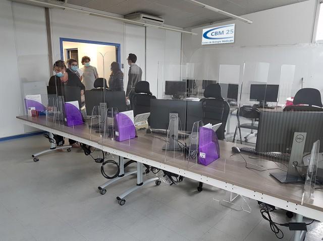 fcnet a participé à la mise en place d'un centre COVID de CBM25