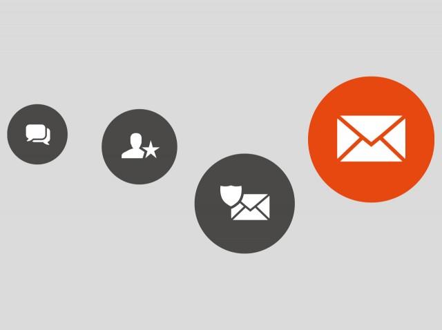 Allègement des règles sur votre service de messagerie