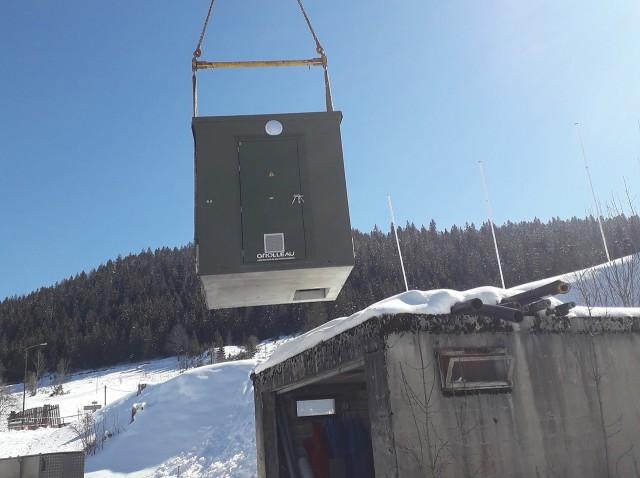 Installation d'un nouveau SRO à Chaux-Neuve