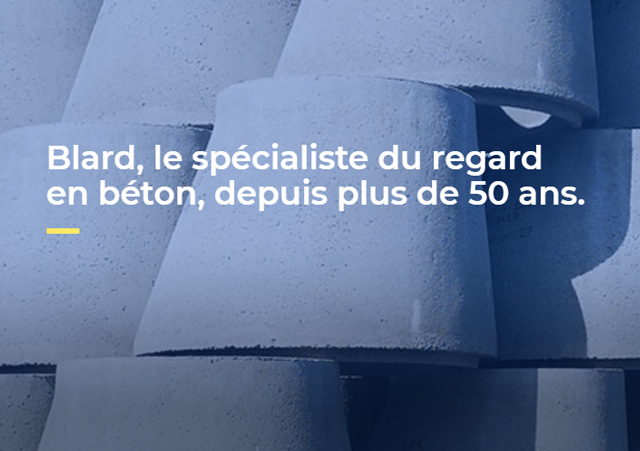 Refonte des sites web Blard